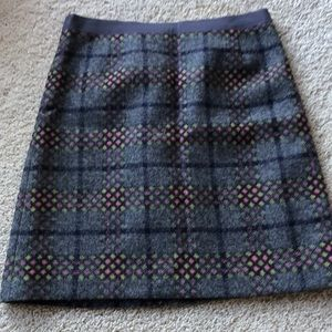 Boden British Tweed Skirt NWOT